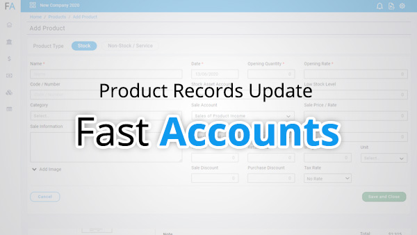 Product Records update