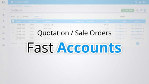 Quotation / Sale Order