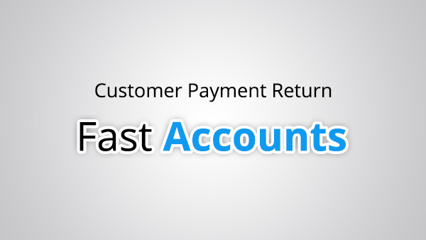 Customer Payment Return