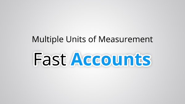 Multiple Units of Measurement