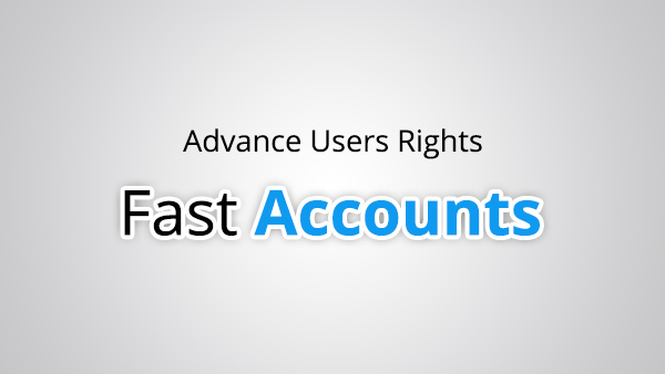 Advance User Rights