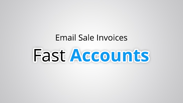 Email Sale Invoices